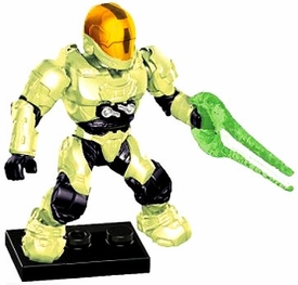 Halo Mega Bloks LOOSE Mini Figure Infected UNSC Zombie Spartan EVA with Energy Sword