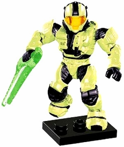 Halo Mega Bloks LOOSE Mini Figure Infected UNSC Zombie Spartan Scout with Energy Sword