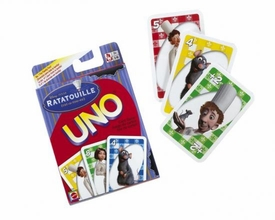 Disney Pixar Ratatouille Movie UNO Card Game