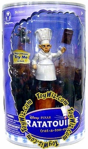 Disney Pixar Ratatouille Movie EXCLUSIVE Collector's Talking Action Figure Skinner