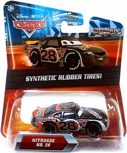 Disney / Pixar CARS Movie Exclusive 1:55 Die Cast Car with Synthetic Rubber Tires Nitroade