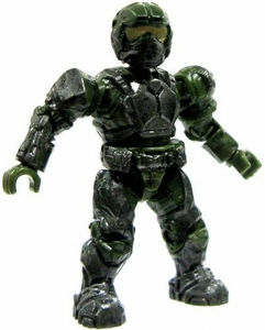 Halo Wars Mega Bloks LOOSE Mini Figure UNSC Marine [Green]