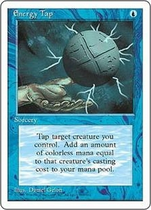 Magic the Gathering Fourth Edition Single Card Common Energy Tap