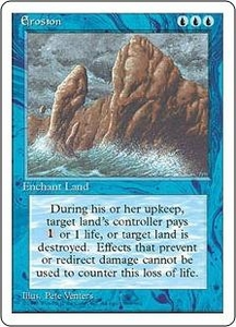 Magic the Gathering Fourth Edition Single Card Common Erosion