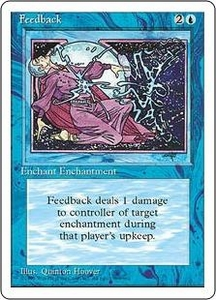 Magic the Gathering Fourth Edition Single Card Uncommon Feedback