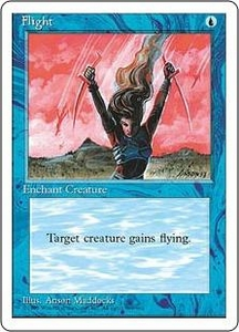 Magic the Gathering Fourth Edition Single Card Common Flight