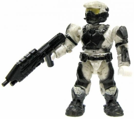 Halo Wars Mega Bloks LOOSE Mini Figure UNSC White Marine with Assault Rifle