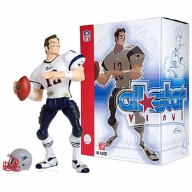 Upper Deck Authenticated All Star Vinyl Figure 2007 Tom Brady (White Away Jersey) Limited to 1500 Pieces BLOWOUT SALE!