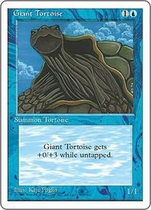 Magic the Gathering Fourth Edition Single Card Common Giant Tortoise