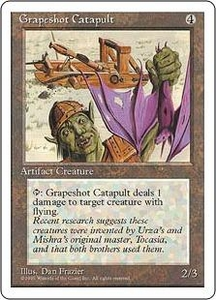 Magic the Gathering Fourth Edition Single Card Common Grapeshot Catapult