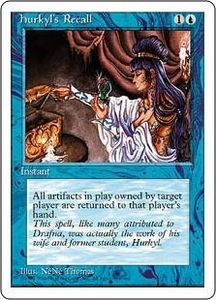 Magic the Gathering Fourth Edition Single Card Rare Hurkyl's Recall