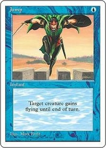 Magic the Gathering Fourth Edition Single Card Common Jump