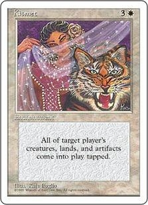 Magic the Gathering Fourth Edition Single Card Uncommon Kismet