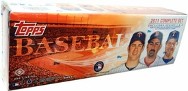 Topps MLB Baseball Cards 2011 Complete Set [Includes Series 1 & 2]