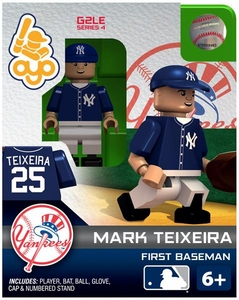 OYO Baseball MLB Generation 2 Building Brick Minifigure Mark Teixeira [New York Yankees]