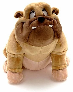 Disney Exclusive Lady & the Tramp 12 Inch Deluxe Plush Figure Bull