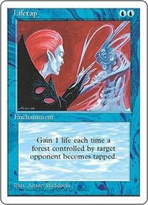 Magic the Gathering Fourth Edition Single Card Uncommon Lifetap