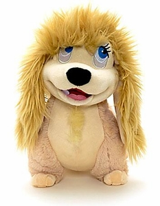 Disney Exclusive Lady & the Tramp 11 Inch Deluxe Plush Figure Peg
