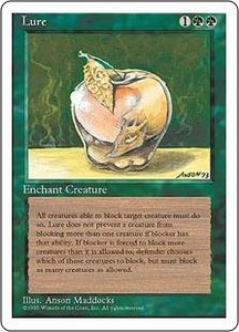 Magic the Gathering Fourth Edition Single Card Uncommon Lure