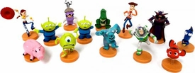 Furuta Disney Pixar Collection Set of 13 Mini 2 Inch PVC Figures [Woody, Jessie, Rex, Hamm, Alien & Alien Variant, Emperor Zurg, Nemo, Dory, Sulley, Mike Wazowski, Boo & Buzz Lightyear]