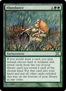 Magic the Gathering Tenth Edition Single Card Rare #249 Abundance