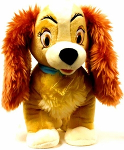 Disney Exclusive Lady & the Tramp 25 Inch Jumbo Plush Figure Lady