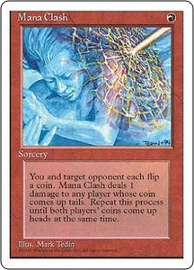 Magic the Gathering Fourth Edition Single Card Rare Mana Clash
