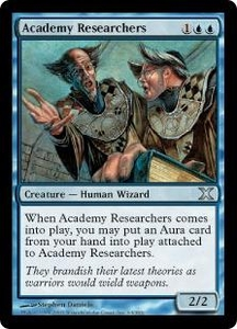 Magic the Gathering Tenth Edition Single Card Uncommon #63 Academy Researchers