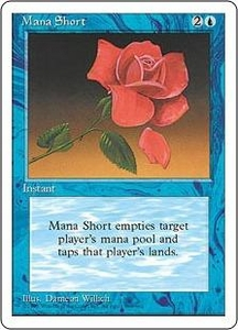 Magic the Gathering Fourth Edition Single Card Rare Mana Short