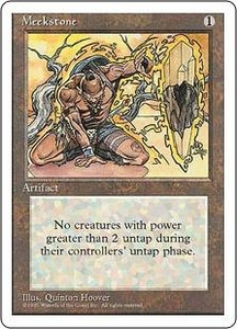 Magic the Gathering Fourth Edition Single Card Rare Meekstone