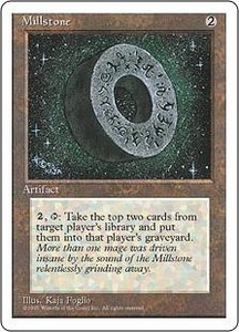 Magic the Gathering Fourth Edition Single Card Rare Millstone