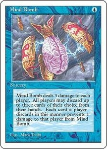 Magic the Gathering Fourth Edition Single Card Uncommon Mind Bomb