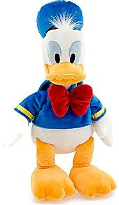Disney Exclusive 8 Inch Mini Plush Figure Donald Duck [Light Blue Clothing]