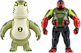 Ben 10 Alien Creation Chamber Mini Figure 2-Pack Upchuck & Gorvan
