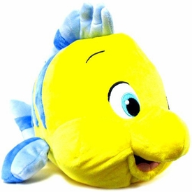 Disney Little Mermaid Exclusive 12 Inch Deluxe Plush Flounder