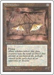 Magic the Gathering Fourth Edition Single Card Uncommon Ornithopter