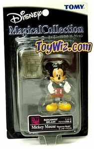 Walt Disney's Magical Collection Tomy Japanese 4 Inch Figure #033 Mickey Mouse