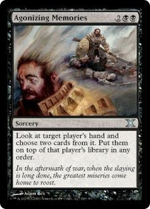 Magic the Gathering Tenth Edition Single Card Uncommon #126 Agonizing Memories