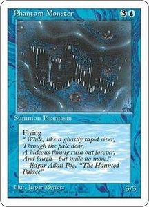 Magic the Gathering Fourth Edition Single Card Uncommon Phantom Monster