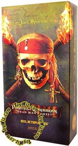 Medicom Pirates of the Caribbean Dead Man's Chest 12 Inch Collectible Figure Jack Sparrow
