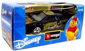 Disney Burago 1/43 Scale DieCast Car Mickey Mouse [Black Paint Job]