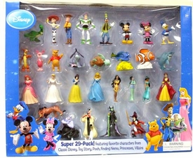 Disney Exclusive PVC Mini Figure Super 29-Pack
