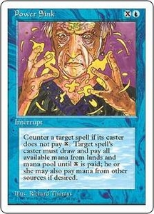 Magic the Gathering Fourth Edition Single Card Common Power Sink
