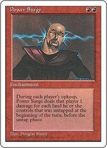 Magic the Gathering Fourth Edition Single Card Rare Power Surge