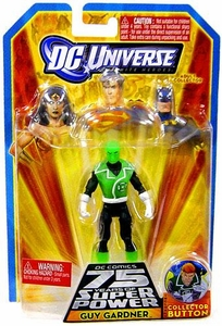 DC Universe Infinite Heroes 75 Years of Super Power Action Figure Guy Gardner [Green Glow]