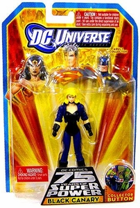 DC Universe Infinite Heroes 75 Years of Super Power Action Figure Black Canary