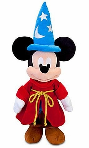 Disney Exclusive Fantasia 24 Inch Deluxe Plush Sorcerer Mickey Mouse