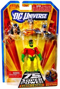 DC Universe Infinite Heroes 75 Years of Super Power Action Figure Earth 2 Robin