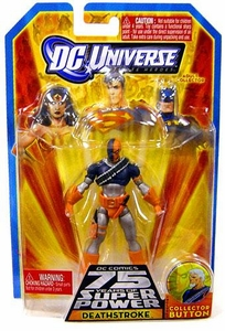DC Universe Infinite Heroes 75 Years of Super Power Action Figure Deathstroke