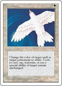 Magic the Gathering Fourth Edition Single Card Rare Purelace